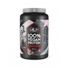 MLN 100% Vegan Protein Strawberry Ice Cream