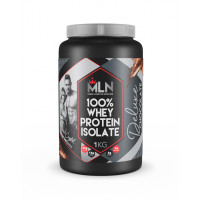 MLN 100% Whey Protein Isolate 1kg Deluxe Chocolate