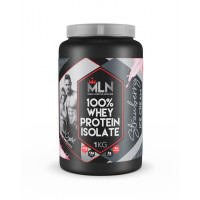 MLN 100% Whey Protein Isolate 1kg Strawberry Ice Cream